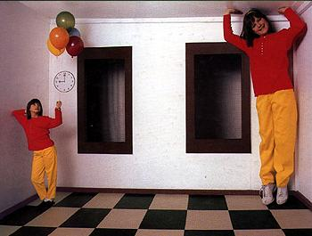 The Ames Room Illusion